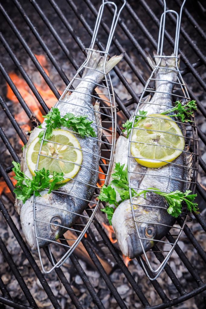 Grill Fischzange